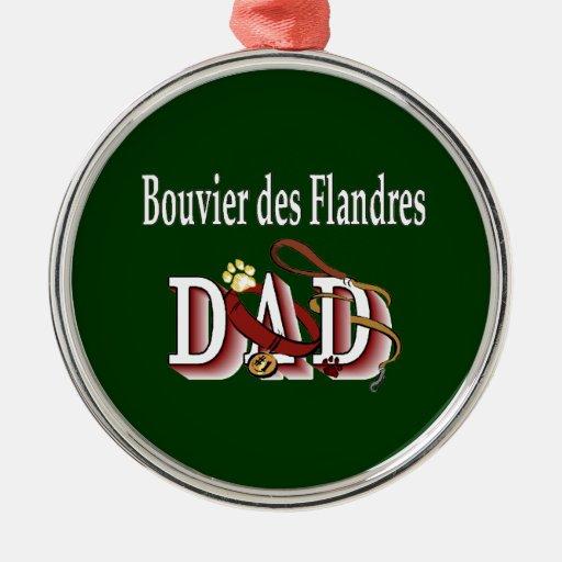 Papá del DES Flandres de Bouvier Adorno Para Reyes
