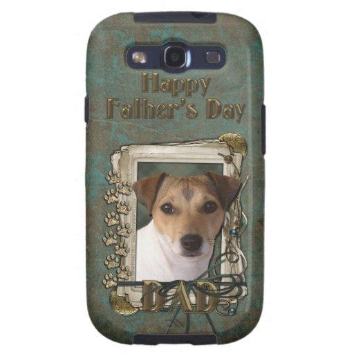 PAPÁ del día de padres - patas de piedra - Jack Ru Samsung Galaxy S3 Coberturas