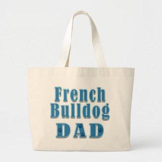 Papá del dogo francés bolsa
