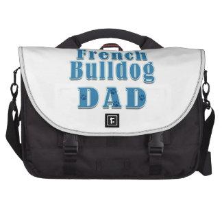 Papá del dogo francés bolsas de ordenador