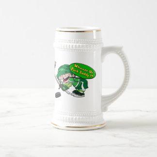 Papá del duende malicioso jarra de cerveza