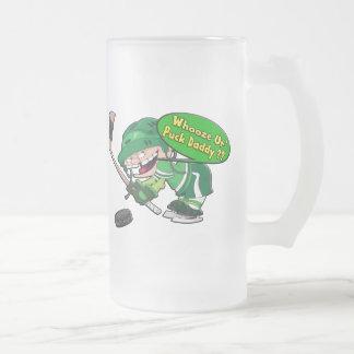 Papá del duende malicioso taza de cristal