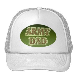 Papá del ejército gorros