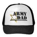 Papá del ejército gorros bordados