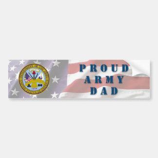 Papá del ejército pegatina para auto