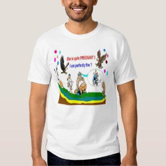 Papá del embarazo a ser camisetas especial poleras