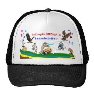 Papá del embarazo a ser gorras especiales