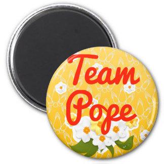 Papa del equipo imanes de nevera