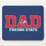 Papá del estado de Fresno Tapetes De Ratones