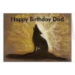 papá del feliz cumpleaños de la canción del forgot tarjeton