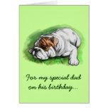 Papá del feliz cumpleaños: Dogo Tarjeton