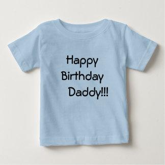 ¡Papá del feliz cumpleaños!!! Playera De Bebé