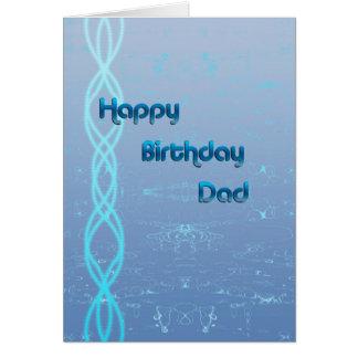 Papá del feliz cumpleaños tarjeta de felicitación