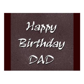 Papá del feliz cumpleaños tarjetas postales