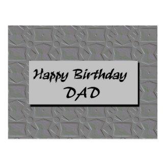 PAPÁ del feliz cumpleaños Postal