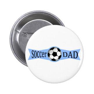papá del fútbol pin