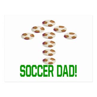 Papá del fútbol postal