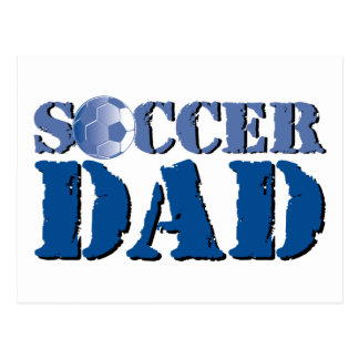Papá del fútbol postales