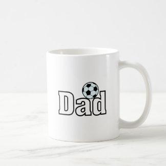 Papá del fútbol taza