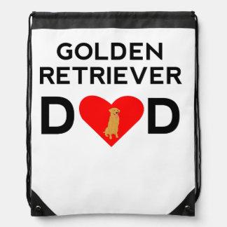 Papá del golden retriever mochilas