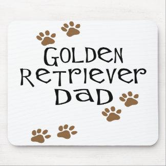Papá del golden retriever tapetes de ratones