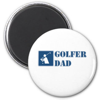"""Papá del golfista "" Imán Redondo 5 Cm"