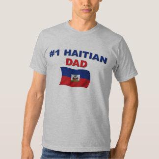 Papá del haitiano #1 playeras