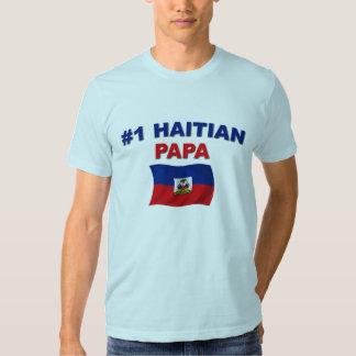Papá del haitiano #1 remera