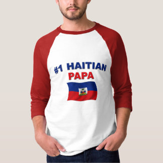Papá del haitiano #1 remeras