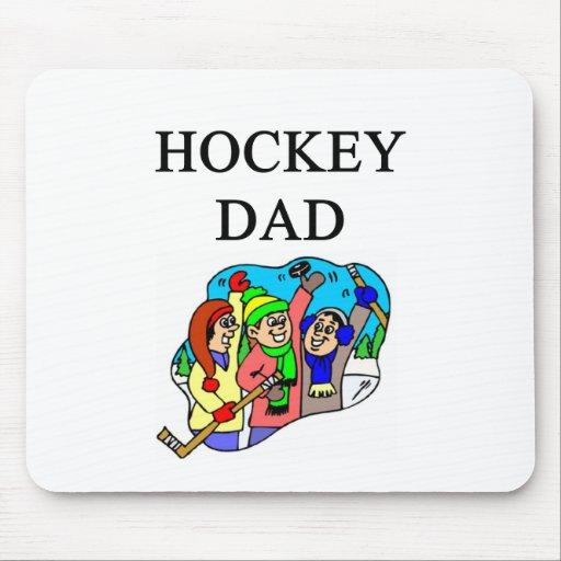 papá del hockey tapete de ratones