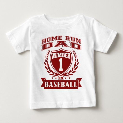 Papá del home run playeras