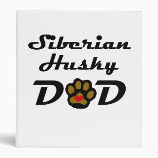 Papá del husky siberiano