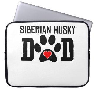 Papá del husky siberiano fundas ordendadores
