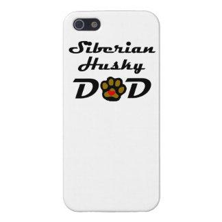 Papá del husky siberiano iPhone 5 cárcasas