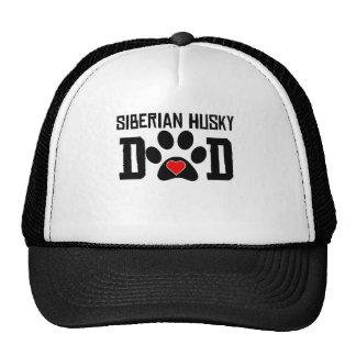 Papá del husky siberiano gorras de camionero
