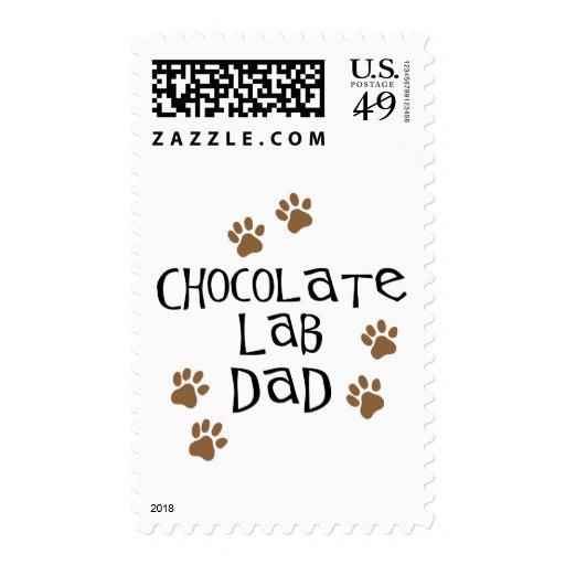 Papá del laboratorio del chocolate