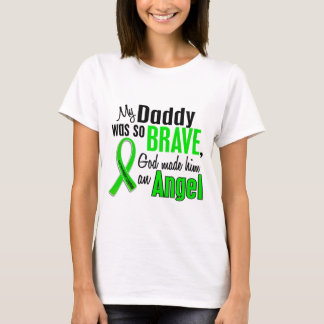 Papá del linfoma de Non-Hodgkins del ángel 1 Playera