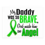 Papá del linfoma de Non-Hodgkins del ángel 1 Postal