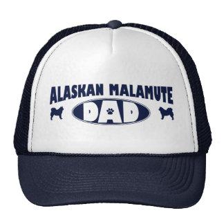 Papá del Malamute de Alaska Gorra