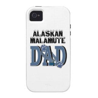 PAPÁ del Malamute de Alaska iPhone 4/4S Carcasas