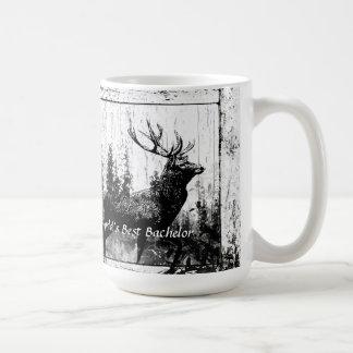 Papá del mundo de los ciervos del macho del vintag tazas de café