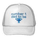 Papá del número 1 a ser gorros bordados