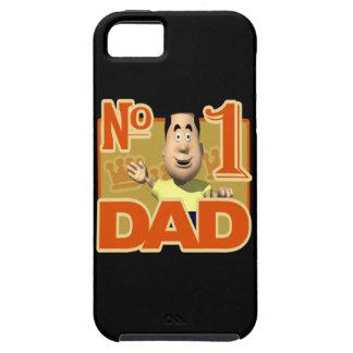 Papá del número 1 iPhone 5 carcasas