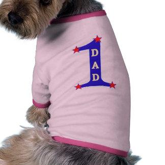 Papá del número #1 ropa de perro