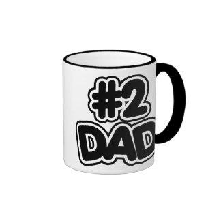 Papá del número 2 taza