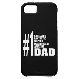 Papá del número uno del navidad de los cumpleaños  iPhone 5 Case-Mate cárcasa