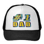 Papá del número uno gorras de camionero