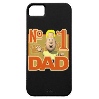 Papá del número uno iPhone 5 carcasas