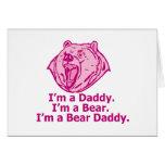 Papá del oso felicitacion
