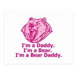 Papá del oso postal